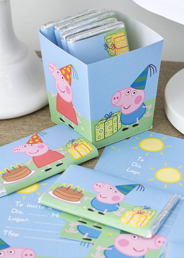 Fiestas infantiles kit gratis de peppa pig pequeocio - Regalos para fiestas de cumpleanos infantiles ...