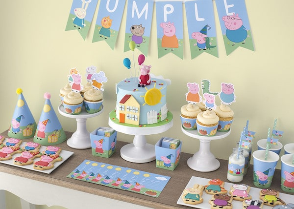 Fiestas Infantiles Kit Gratis De Peppa Pig Pequeociocom