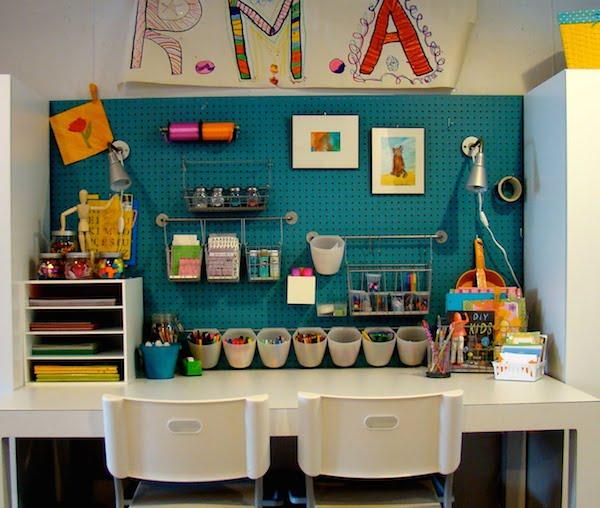 Habitaciones Infantiles Rincones De Manualidades Pequeociocom - Manualidades-habitacion