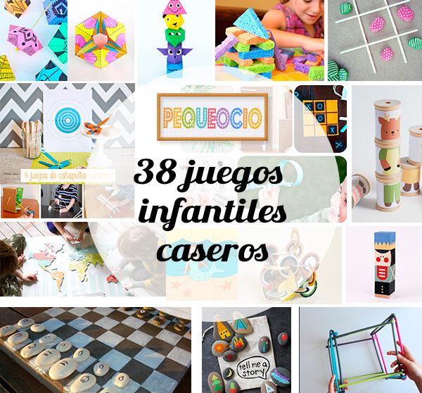 38 juegos infantiles caseros | Pequeocio.com