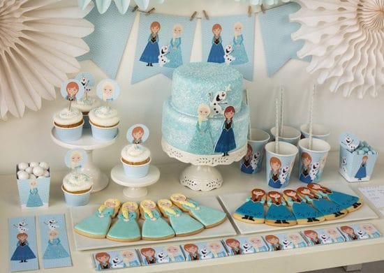 Fiestas infantiles, ¡kit de Frozen para imprimir gratis!