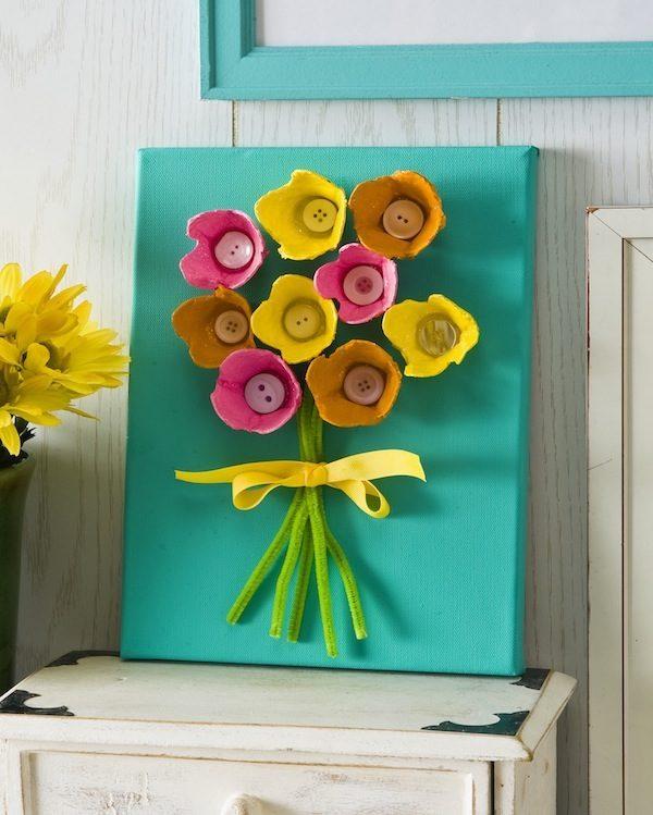 5 manualidades infantiles para el Día de la Madre - PequeOcio