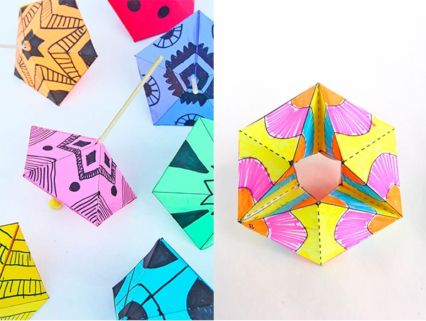 Manualidades con papel 2 juegos geniales pequeocio - Manualidades para ninos con papel ...