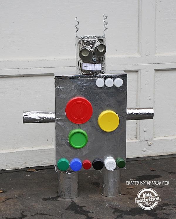 Manualidades para niños de robots