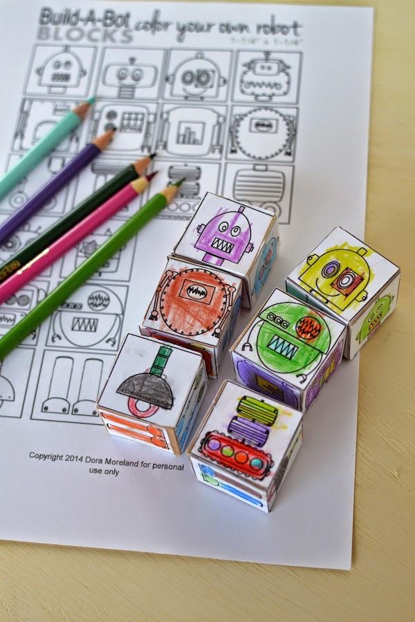 Como hacer un robot de carton - Manualidades pequeocio ...
