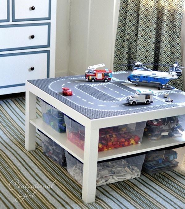 Muebles infantiles, 6 mesas de juego caseras - Pequeocio