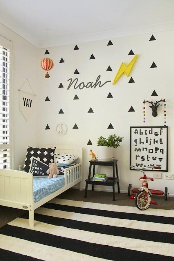 Habitaciones infantiles 7 paredes originales y f ciles - Vinilos bonitos ...