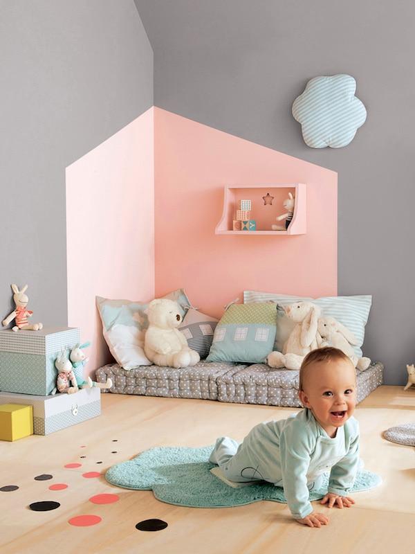 Habitaciones infantiles 7 paredes originales y f ciles - Pinturas originales para dormitorios ...