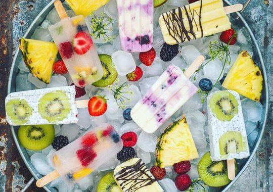 Polos de fruta caseros 1