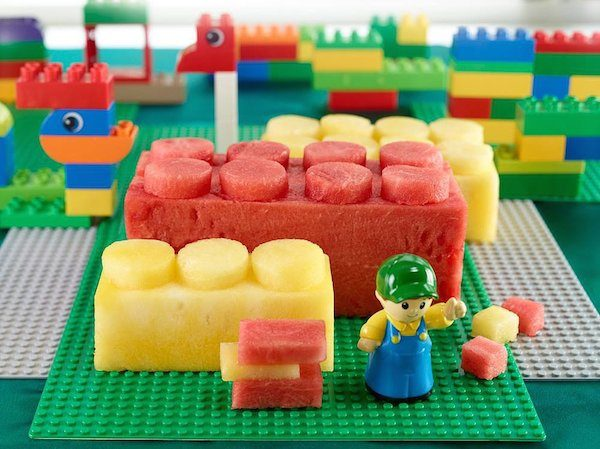 Recetas infantiles ¡para fans de lego pequeocio