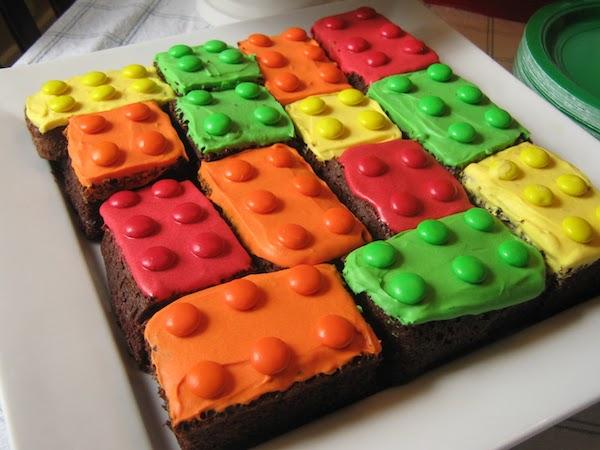 Recetas para niños de Lego