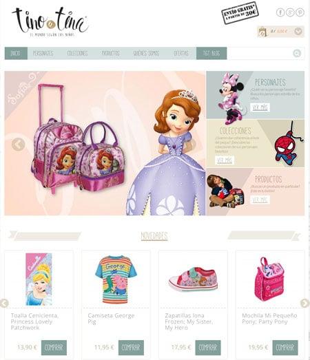 tino y tina tienda online infantil