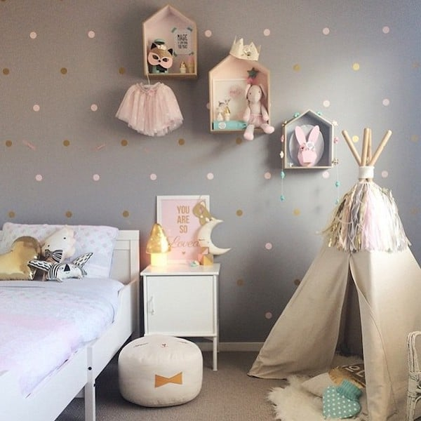 19 Adorable Ideas For Decorating Small Nursery: Decoración Infantil, Tipis Indios ¡preciosos!