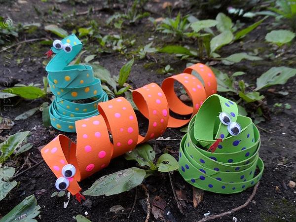 Manualidades recicladas animales de rollos de papel - Manualidades con rollos de papel ...