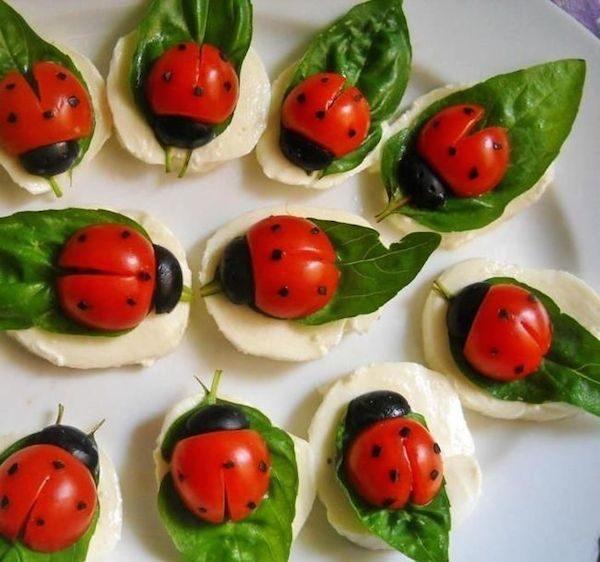 4 aperitivos f ciles y originales para ni os pequeocio - Comodas originales ...