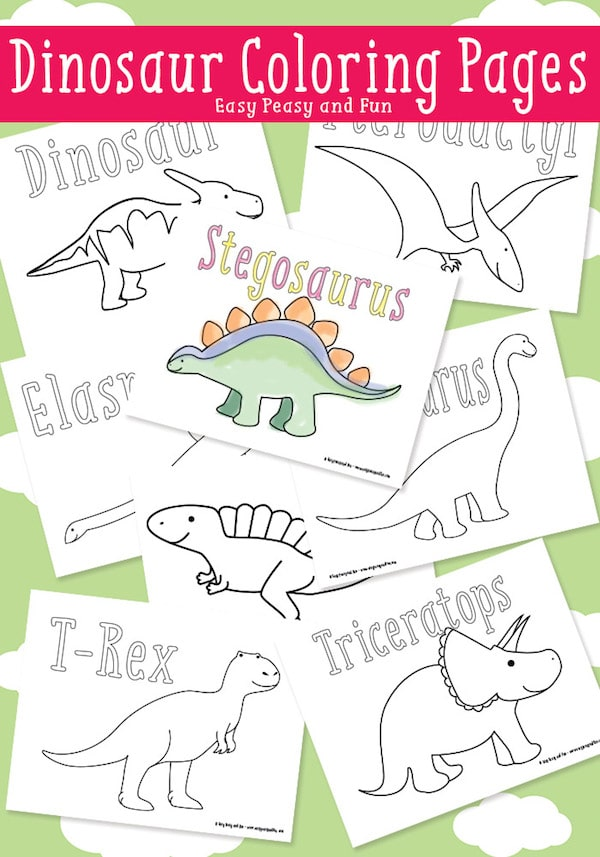 40 dibujos para colorear de animales | Pequeocio.com