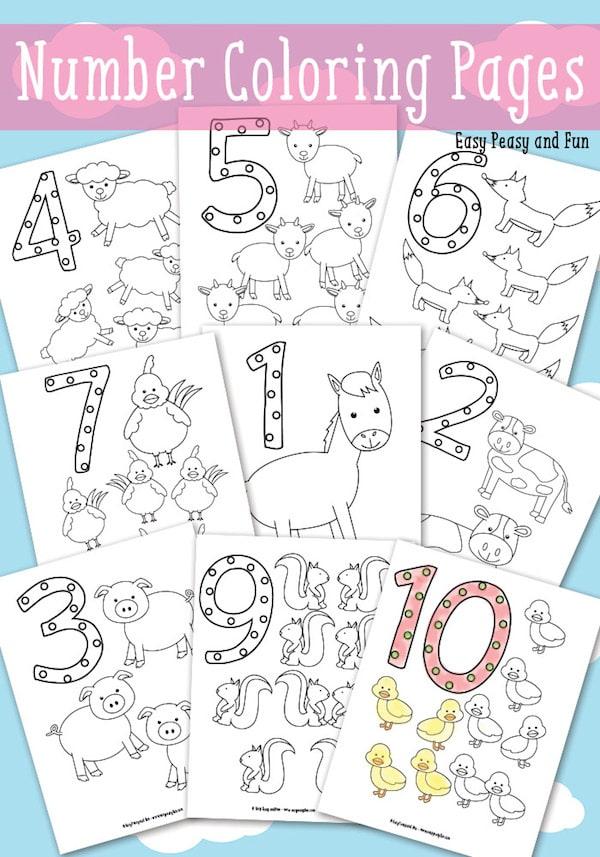 40 Dibujos Para Colorear De Animales Pequeociocom
