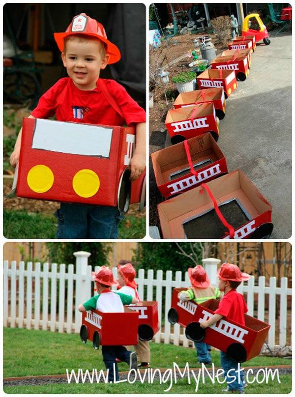 Juegos para fiesta de bomberos