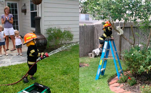actividades para una fiesta de bomberos