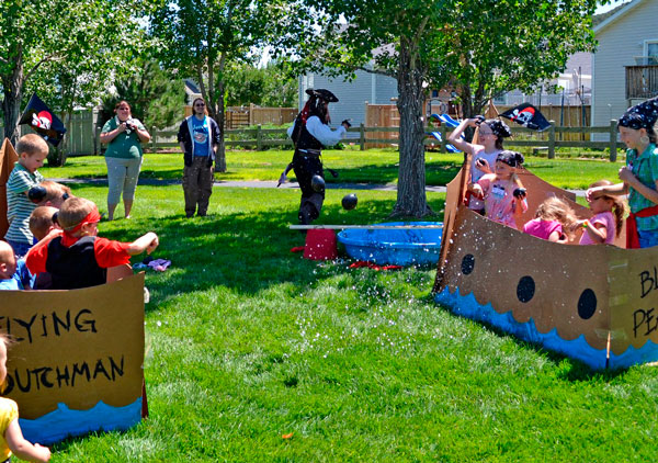 Fiestas Infantiles Ideas Para Fiestas Al Aire Libre Pequeocio Com