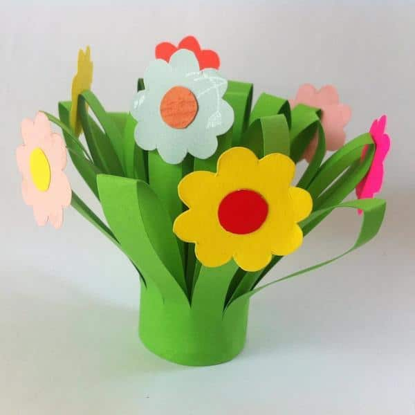 Flores De Papel 5 Ideas Para Hacer Con Los Ninos Pequeocio Com