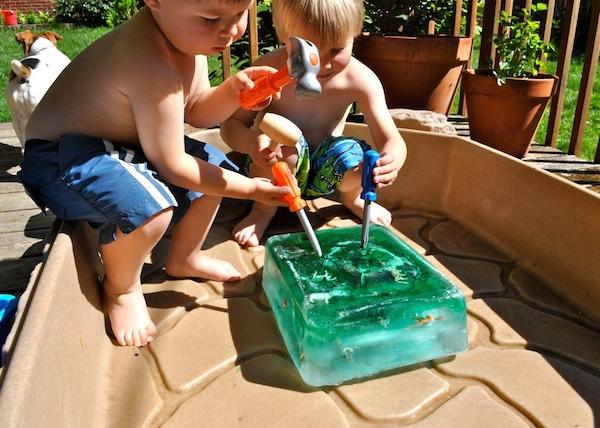 Juegos infantiles de agua