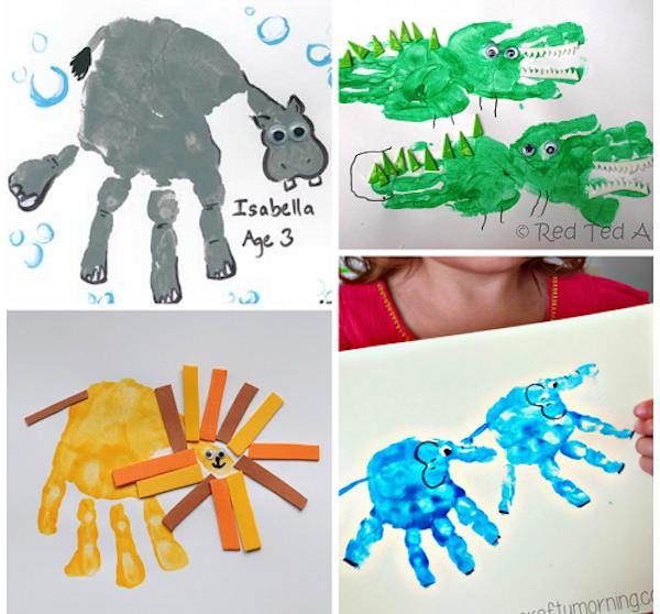 Manualidades Infantiles.Manualidades Infantiles Para Aprender Sobre Animales Pequeocio Com