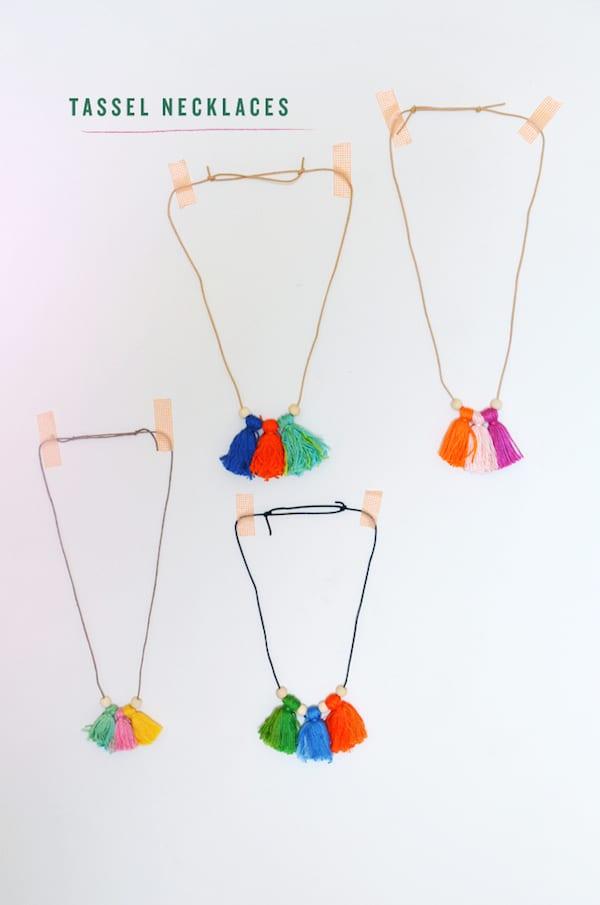 Manualidades para ni os 4 collares divertidos pequeocio - Manualidades para ninos faciles de hacer y rapidas ...