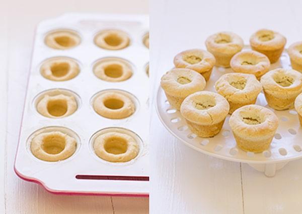 Cómo hacer galletas en forma de taza