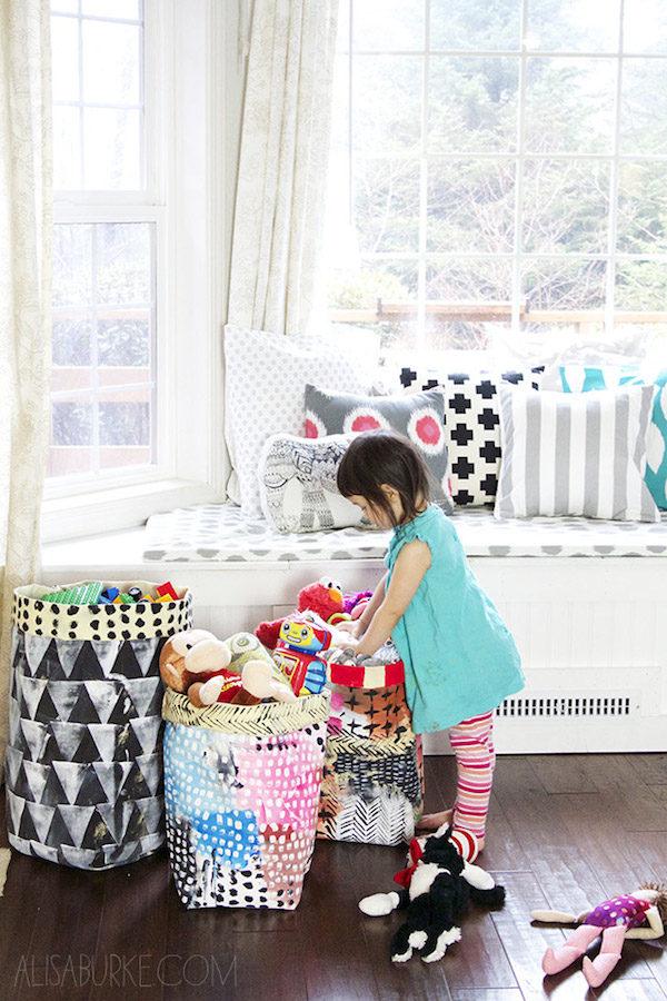 Decoraci n infantil ideas para ordenar los juguetes - Ideas para organizar juguetes ninos ...