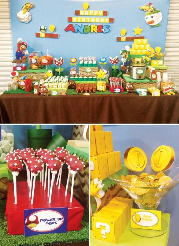 Fiestas infantiles de Super Mario