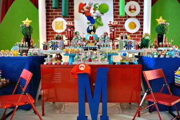 Ideas Para Fiestas Tem 225 Ticas De Super Mario Pequeocio Com