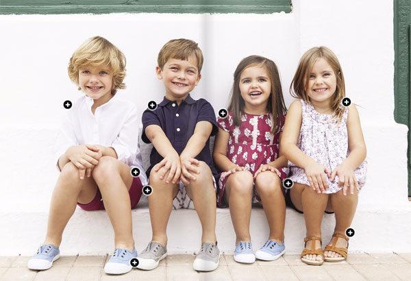 Moda infantil de Gocco 2015