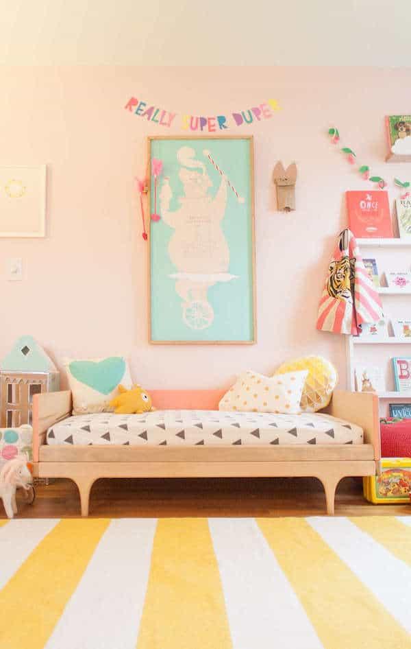 7 habitaciones infantiles llenas de color pequeocio - Habitaciones infantiles unisex ...