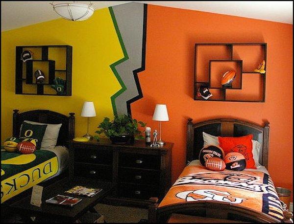 5 habitaciones infantiles compartidas originales pequeocio for Dormitorios infantiles originales