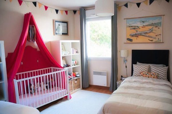 5 habitaciones infantiles compartidas originales pequeocio - Habitaciones ninos originales ...