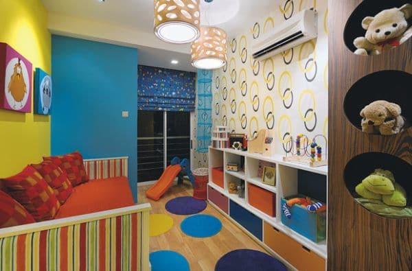 Habitaciones infantiles con colores