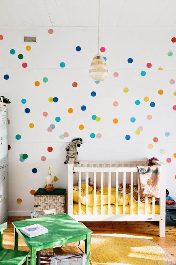 Habitaciones infantiles con color