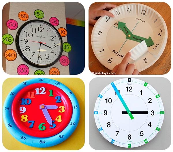 juegos educativos para aprender la hora