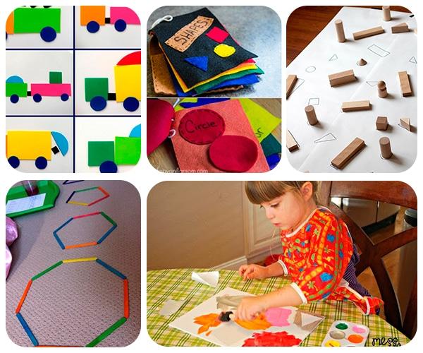 otra de las primeras nociones que aprenden los peques en edad preescolar son las formas con estos juegos divertidos aprendern a y nombrarlas