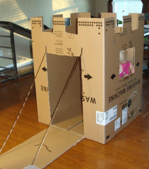 Como hacer una castillo de carton imagui - Como hacer una caja con carton ...