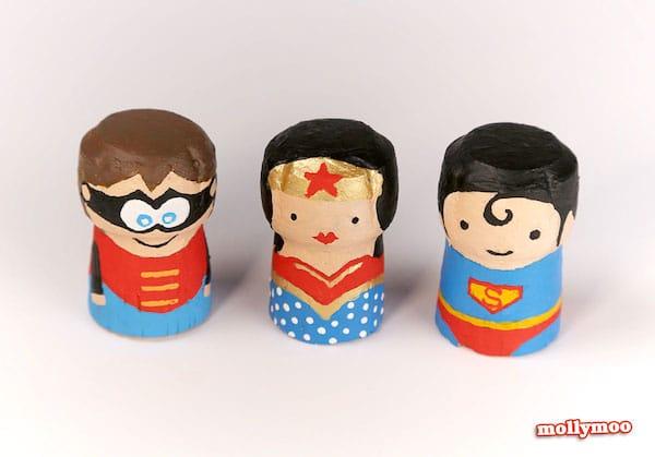 Manualidades infantiles de superhéroes