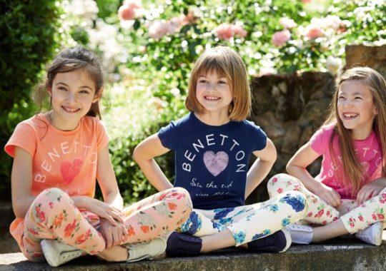 Moda para niños 2015 de Benetton