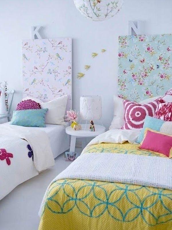 5 cabeceros de cama diferentes pequeocio - Telas para forrar cabecero cama ...