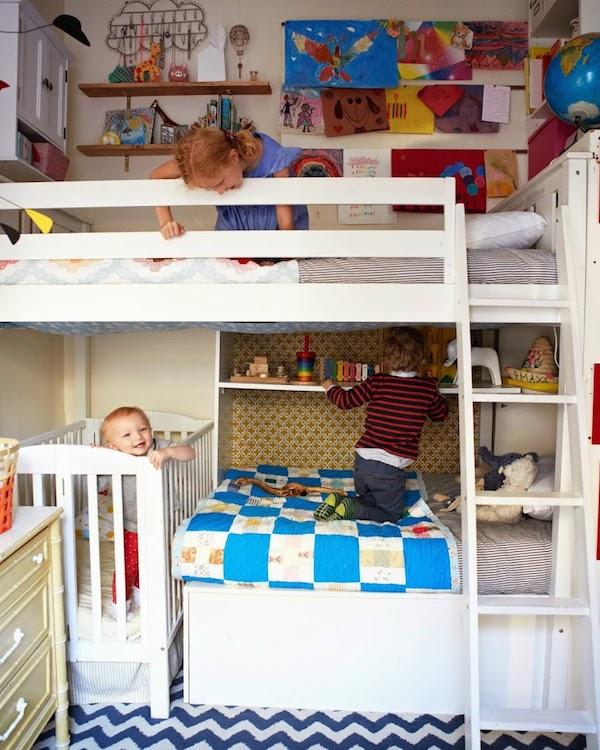 6 habitaciones infantiles peque as pequeocio - Habitaciones pequenas para ninas ...