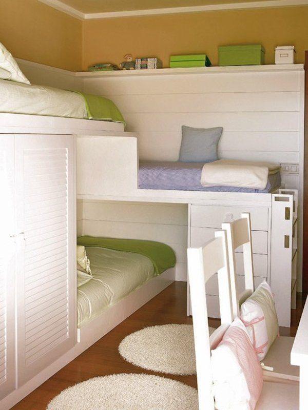 6 habitaciones infantiles peque as pequeocio - Habitaciones infantiles pequenos espacios ...