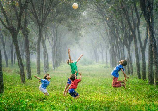 5 juegos infantiles ¡al aire libre! 1
