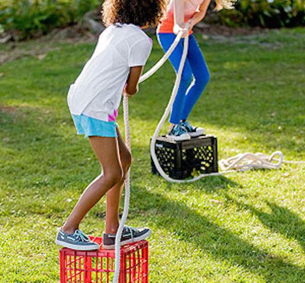 5 Juegos Infantiles Caseros Al Aire Libre Pequeocio Com