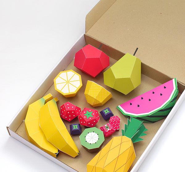 Manualidades Con Frutas Coloridas Pequeociocom - Manualidades-con-frutas-para-nios