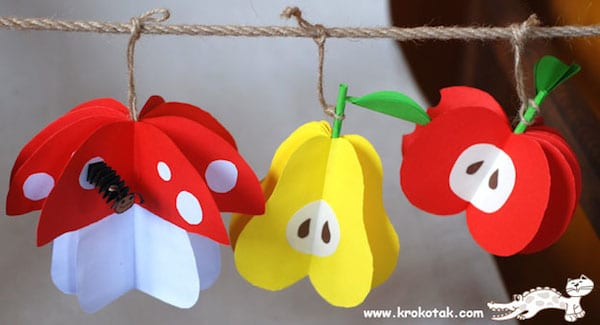 Manualidades con fruta
